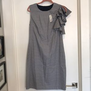 NWT Banana Republic plaid dress